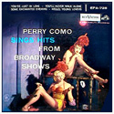 Perry Como Sings Hits From Broadway Shows ~ EPB Cover
