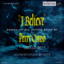 "Perry Como ~ I Believe 10"" LPM-3188  1953"