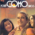 Perry Como Sings ~ UK Release