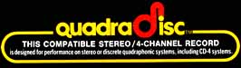 Compatible Stereo / 4-Channel QuadraDisc