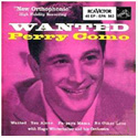 Perry Como ~  Wanted  45 RPM Extended Play Album