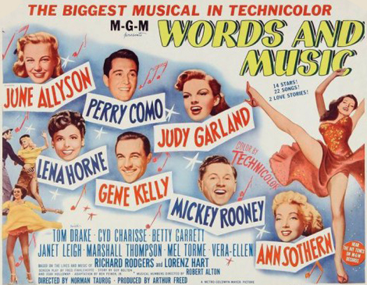 Words and Music - 1948 Hollywood Musical
